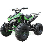 "2018 New Arrival! ATV-B04 125cc ATV with Automatic Transmission w/Reverse, Foot Brake, Remote Control! Big 19""/18""Tires!"