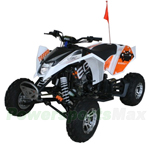 "RPS ATV250-Max-7 250cc ATV with 4-speed Manual Transmission with Reverse, Chain Driven, Electric Start, Big 20""/19"" Tires!"