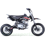 "SSR SR125 2016 125cc Pit Bike with 4-Speed Manual Transmission, Kick Start! 14""/12"" Wheels! Free Shipping!"