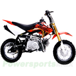 DB-J007 Coolster 110cc Dirt Bike with Fully Automatic Transmission, Electric Start Only! Free Gifts!