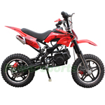 "Coolster QG-50X 50cc Mini Dirt Bike with Automatic Transmission, Front & Rear Disc Breaks, 10"" Tires! Super Fast!"