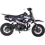 "Taotao DB10 110cc Dirt Bike with Automatic Transmission, Electric Start, Front Hydraulic Disc Brake! Chain Drive! 10"" Wheels!"