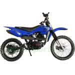 "RPS Viper 150cc Dirt Bike with 5-Speed Manual Transmission and Kick Start! Chain Drive! 19""/16"" Wheels!"