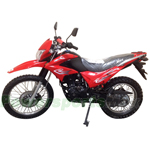 "RPS Hawk 250 Dirt Bike with 5-speed Manual Transmission and Electric/kick Start! Big 21""/18"" Wheels! Free Shipping!"