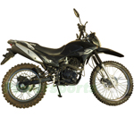 "RPS Hawk 250 Dirt Bike with 5-speed Manual Transmission and Electric/kick Start! Big 21""/18"" Wheels!"