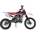 DB-X29 X-PRO<sup>®</sup> 125cc PitBike with 4-speed Manual Transmission, Zongshen Brand Engine! Big 17&quot;/14&quot; Tires! High Quality