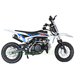 DB-X31 X-PRO<sup>®</sup> 110cc PitBike with Semi-Automatic Transmission, Zongshen Brand Engine! Kick Start! 10&quot; Tires!