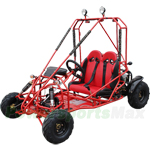 GK-F033 125cc Go Kart with Automatic Transmission w/Reverse, Larger than Kid Size! More room for growth!