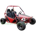 GK-F018 150cc Go Kart with Automatic CVT Transmission w/Reverse!Included Headlights and Front Brake! Free Gifts!