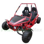 "KD-150GKM-2 150cc Go Kart with Automatic CVT Transmission w/Reverse! Big 19""/18"" Wheels!"