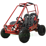 TrailMaster MINI XRX+ 163cc Kid Size Go Kart with Automatic Transmission, 5.5 HP General Purpose Engine, Remote Control!