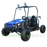 "Taotao Jeep Auto Go Kart with Fully Automatic Transmission w/Reverse, Disc Brakes, Roof Lights! Big 16"" Wheels!"