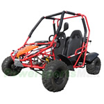 "GK-P002 AeroHawk 150cc Go Kart with Automatic Transmission w/Reverse!Big 19""/20"" Tires! Free Gifts!"