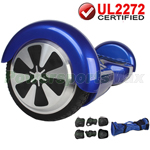 Blue UL2272 Certified Balancing Scooter Hoverboard, w/Free Protection Kits and Free Bag! Free Shipping!