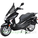 "MC-A14-R308 150cc Moped Scooter, 13"" Wheels! Made by ZNEN, High Quality!Brand New!Huge Savings $590!"