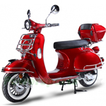 "BMS Chelsea 150cc Moped Scooter with 10"" Wheels, Rear Trunk! Made by ZNEN, High Quality!Free Shipping!"