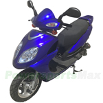 "MC-F002 50cc Moped Scooter with 12"" Aluminium Wheels! Electric/Kick Start! Front Disc Brake!"