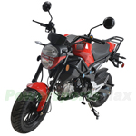 "MC-N015 BD125-8 125cc Street Motorcycle with Manual Transmission, Electric Start! 12"" Wheels!"
