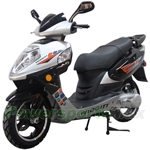 "MC-X12 150cc Moped Scooter with Sports Style, 13"" Aluminum Wheels, New Arrival!"