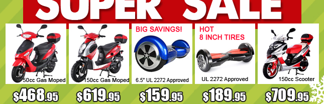 1a-gas scooter $478 hoverboard $189